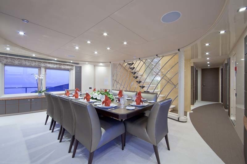 Eating/dining On Board Yacht SISTER ACT