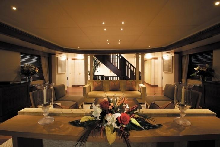 Premier Saloon Profile Aboard Yacht LAZY Z