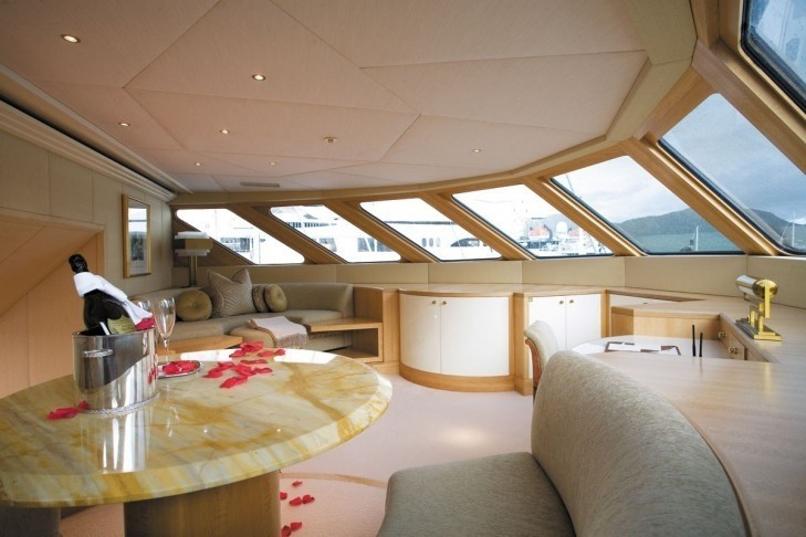 Extensive Aspect: Yacht LAZY Z's Main Master Cabin Captured