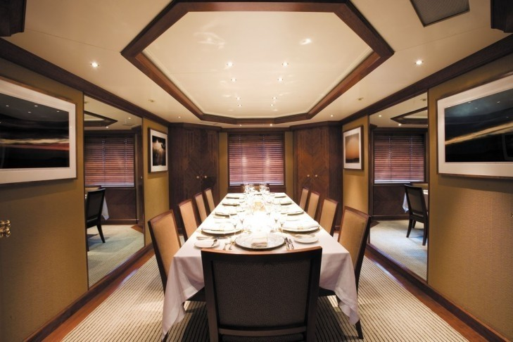 Eating/dining On Yacht LAZY Z