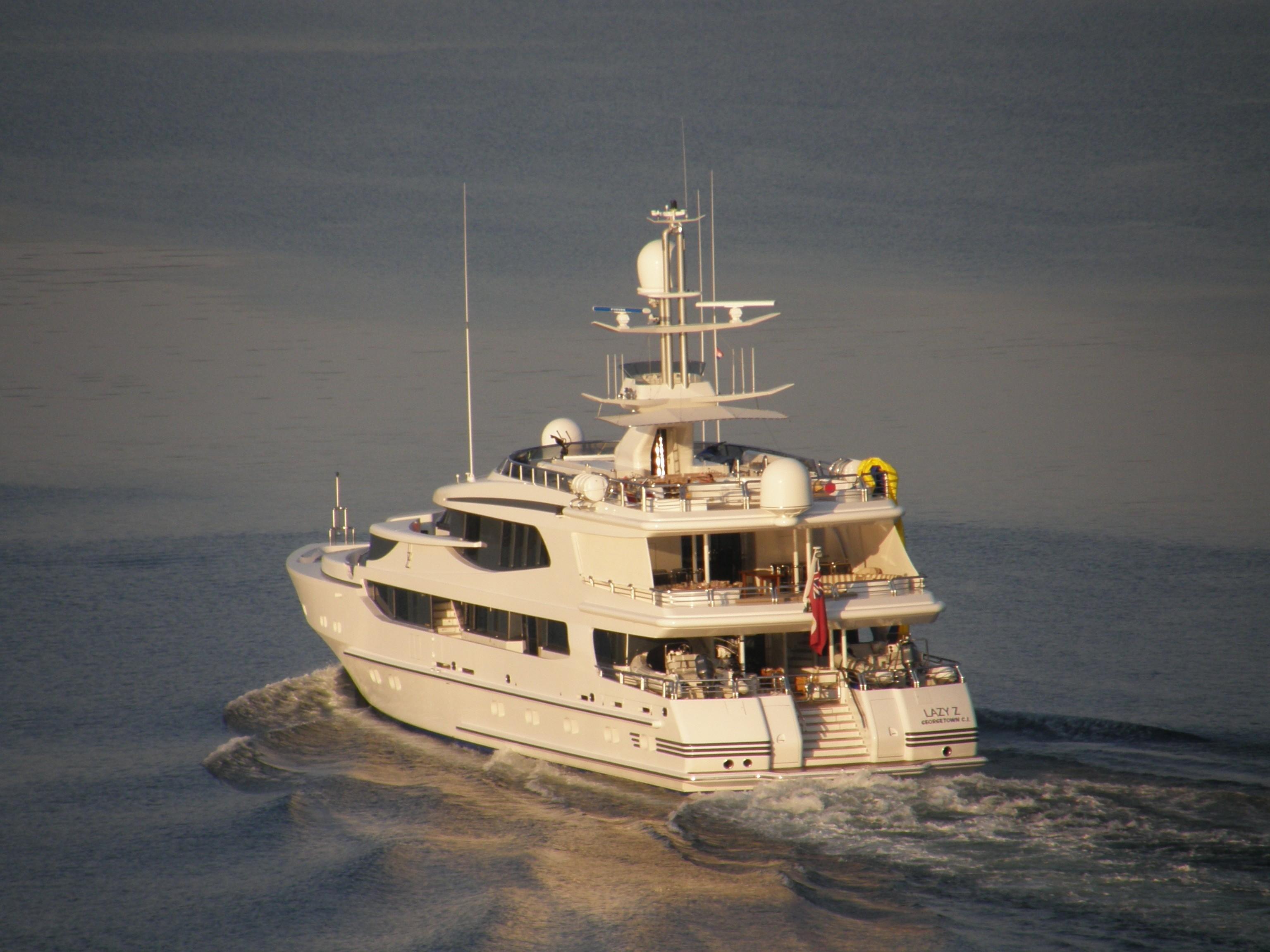 Aft Aspect On Yacht LAZY Z