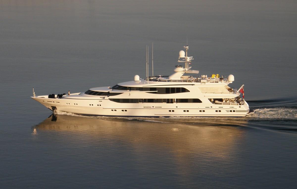Overview On Board Yacht LAZY Z