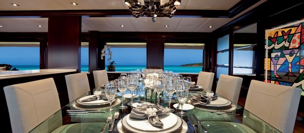 Eating/dining Furniture Aboard Yacht COCKTAILS