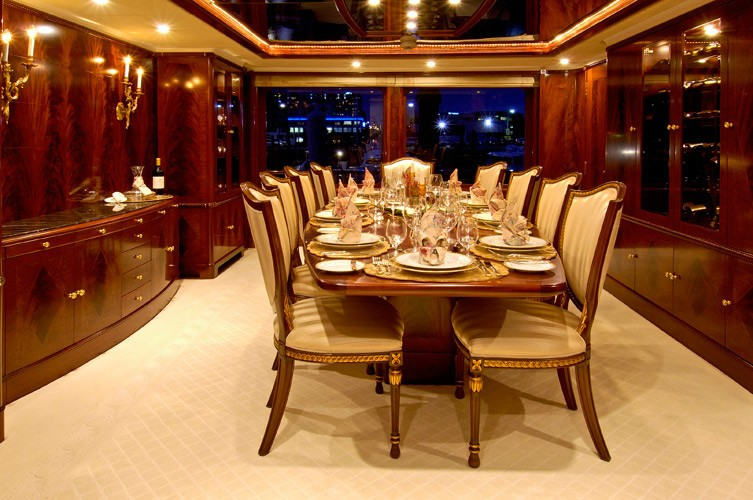 Furniture Set Aboard Yacht NOBLE HOUSE