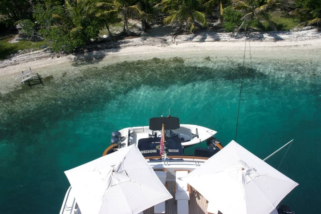 Ship's Tender On Yacht NOBLE HOUSE