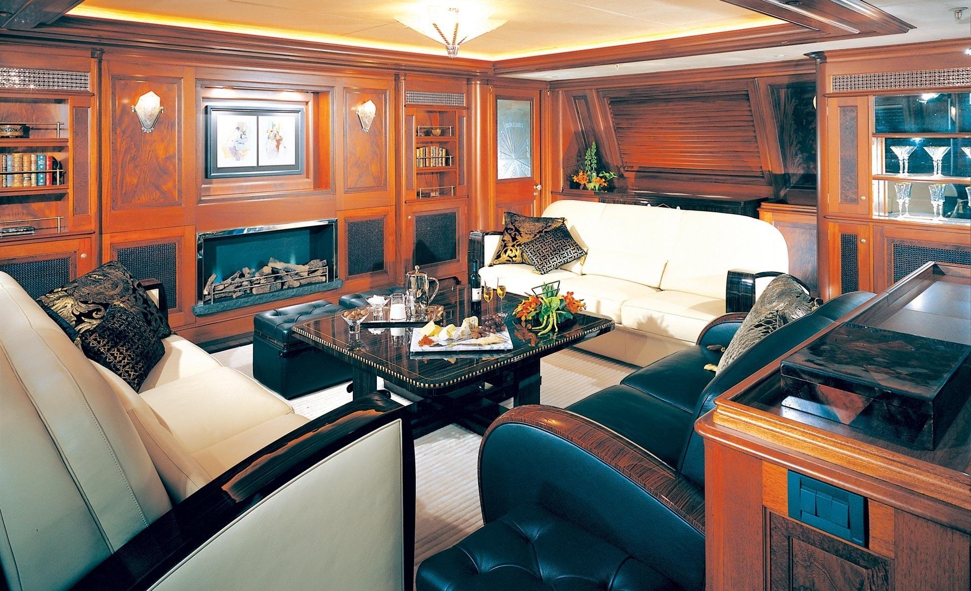 Premier Saloon Aboard Yacht TIARA