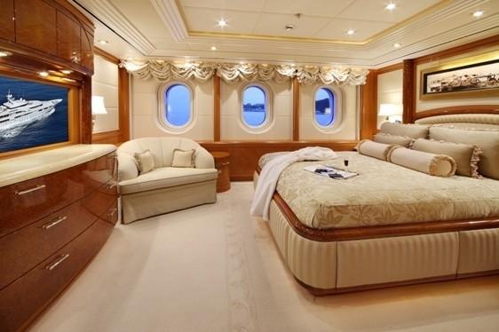 First Guest's Cabin Aboard Yacht CAPRI