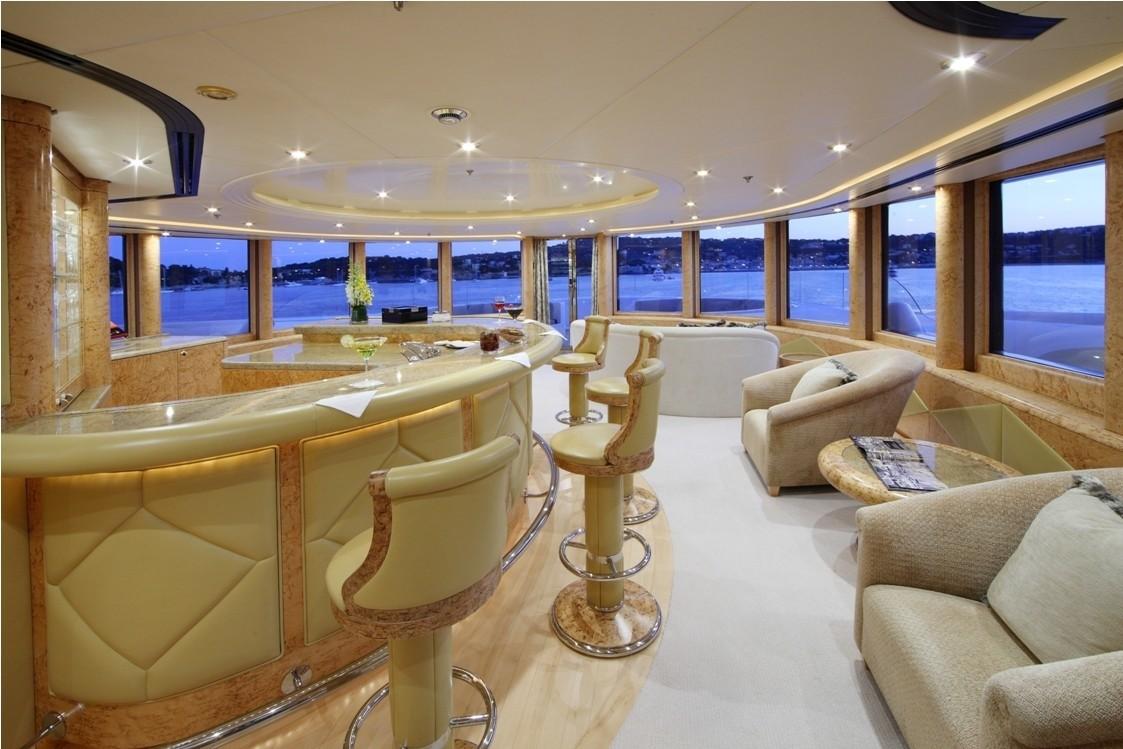Observance Lounging On Board Yacht CAPRI