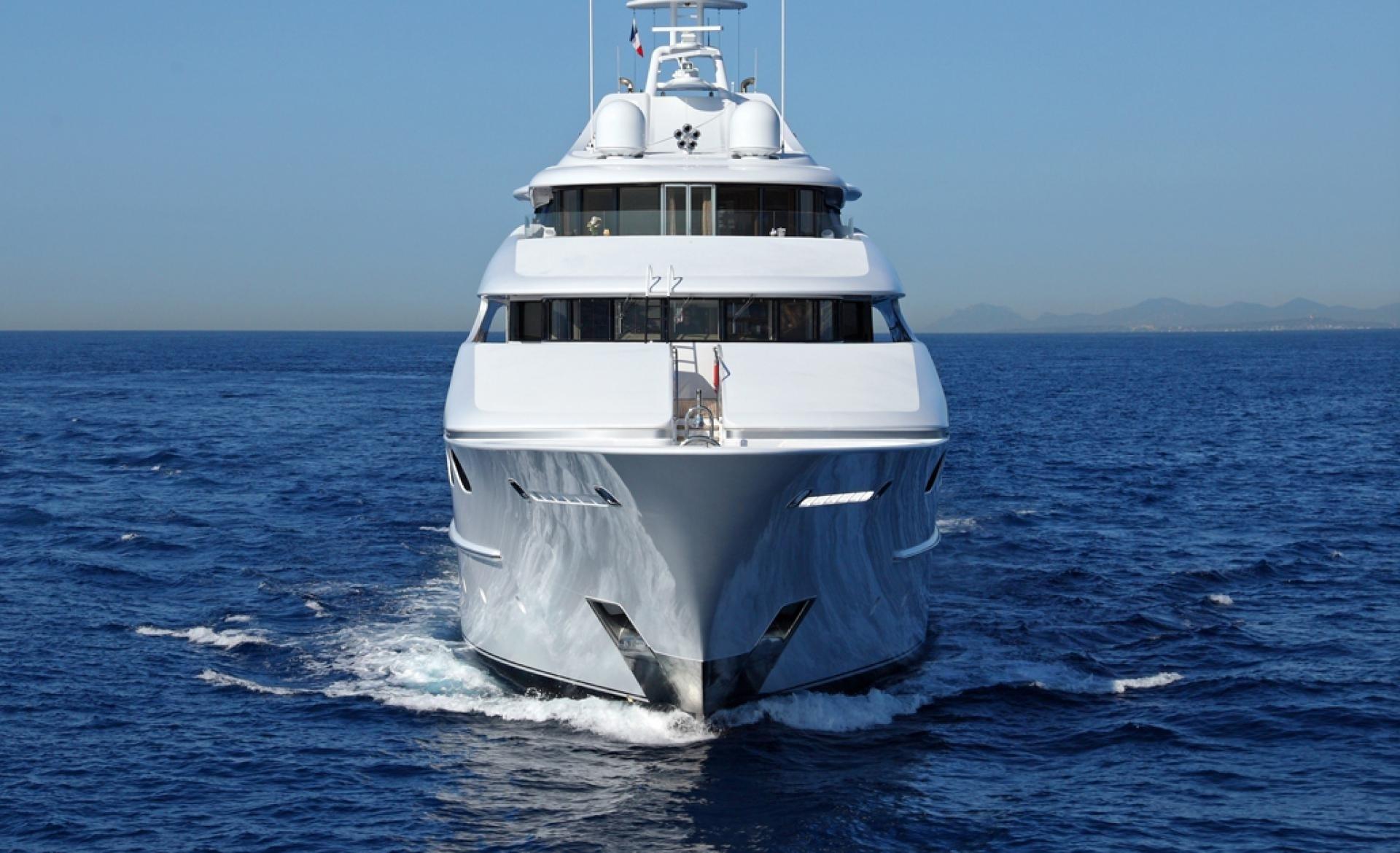 Forward Aspect On Yacht CAPRI