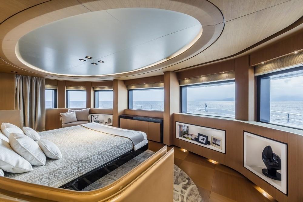 Main Master Cabin On Board Yacht SUERTE