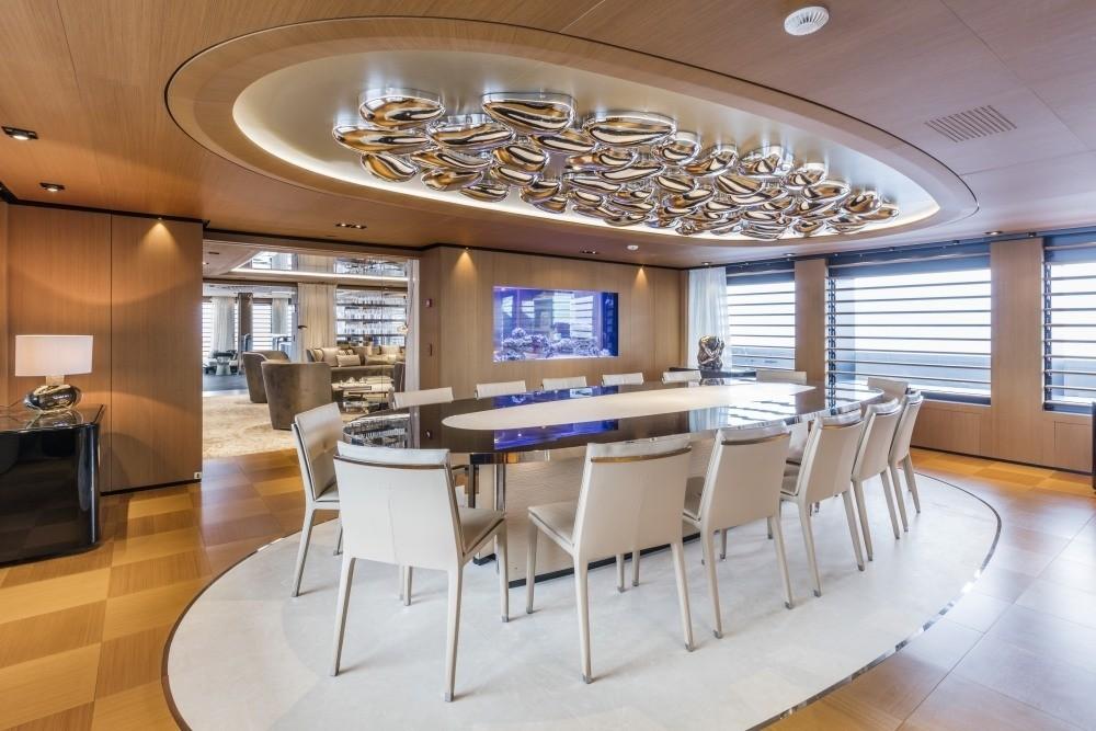 Formal Eating/dining On Board Yacht SUERTE