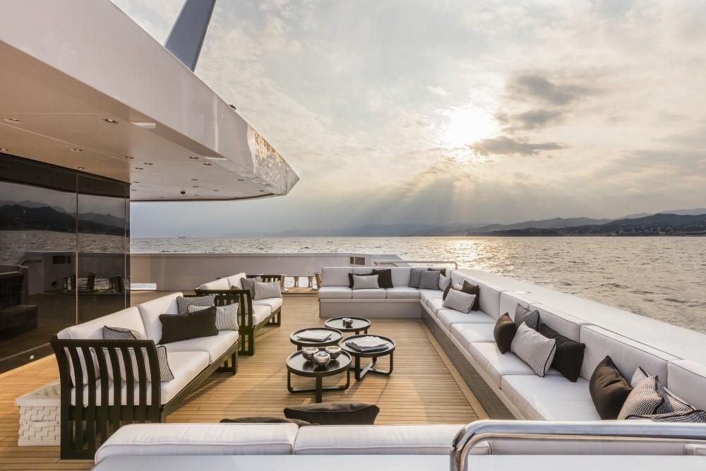 Outside Sitting Aft On Yacht SUERTE