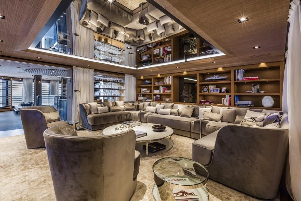 Premier Saloon Aboard Yacht SUERTE