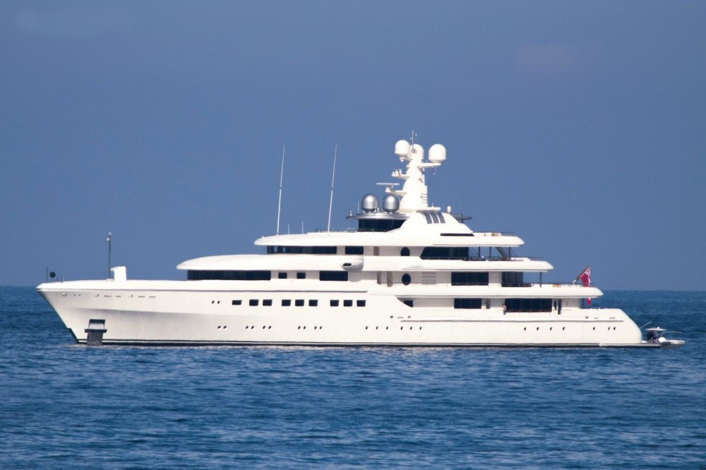 The 81m Yacht ROMEA