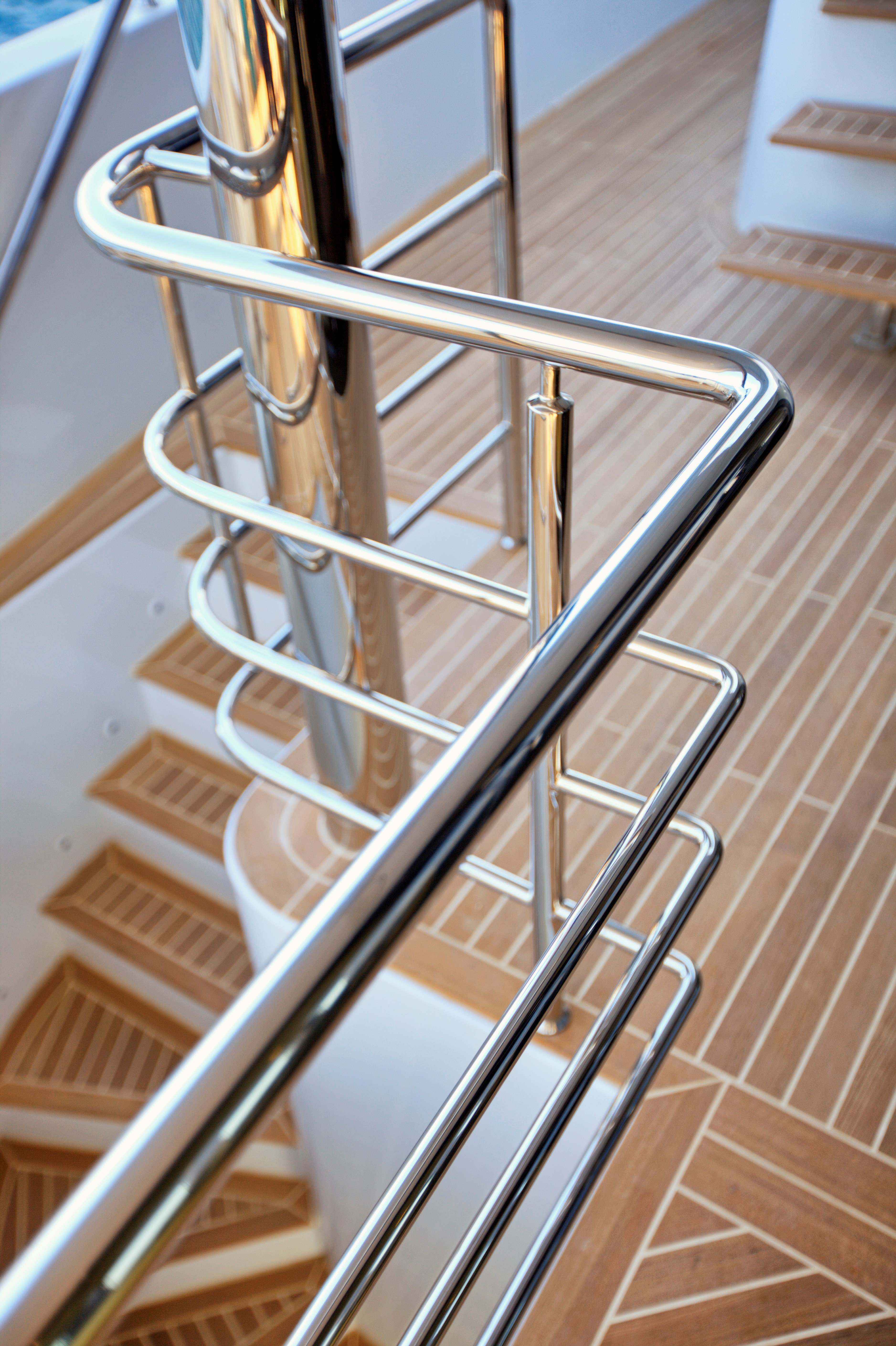 Saloon deck stairs