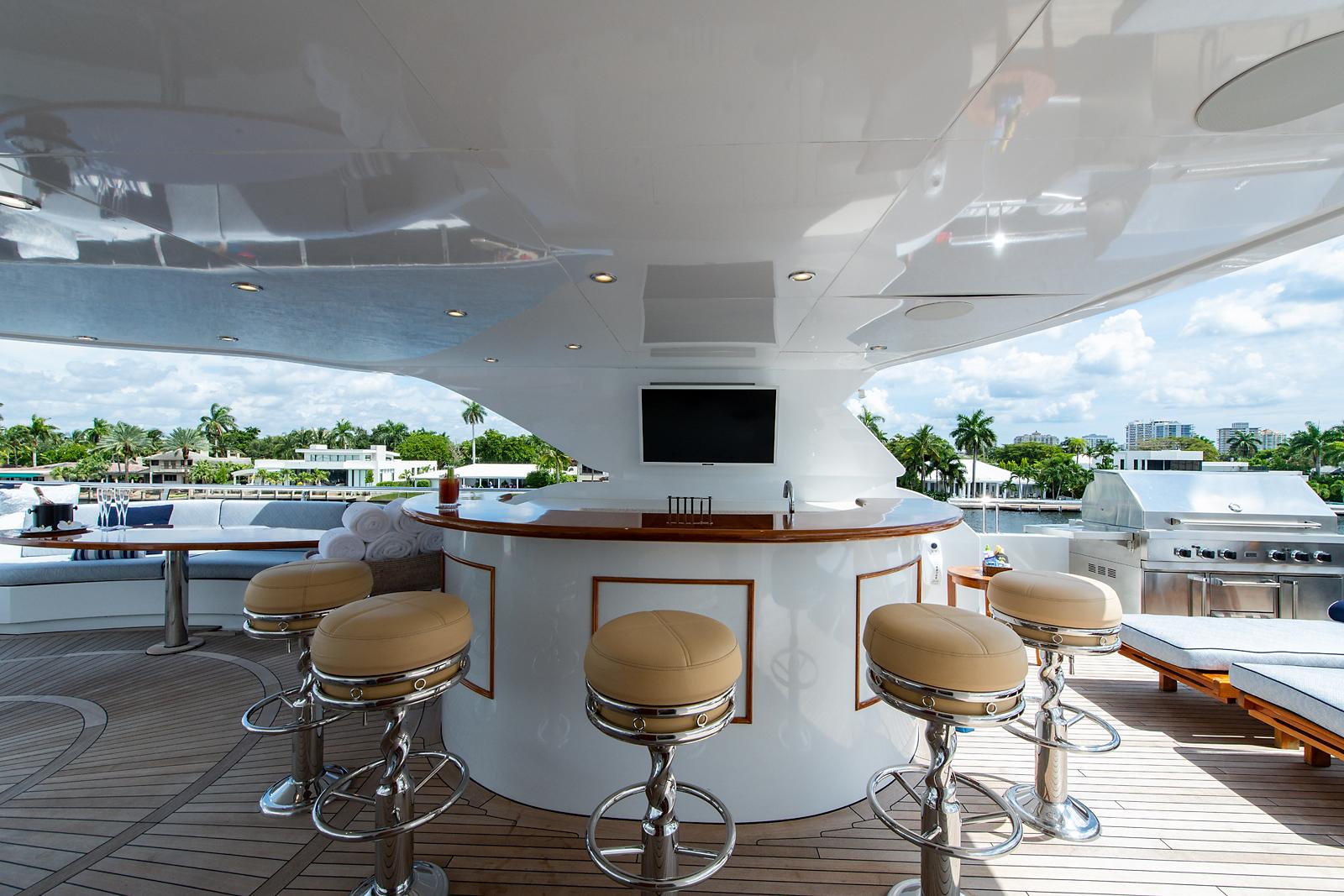 Sun Deck Bar Area