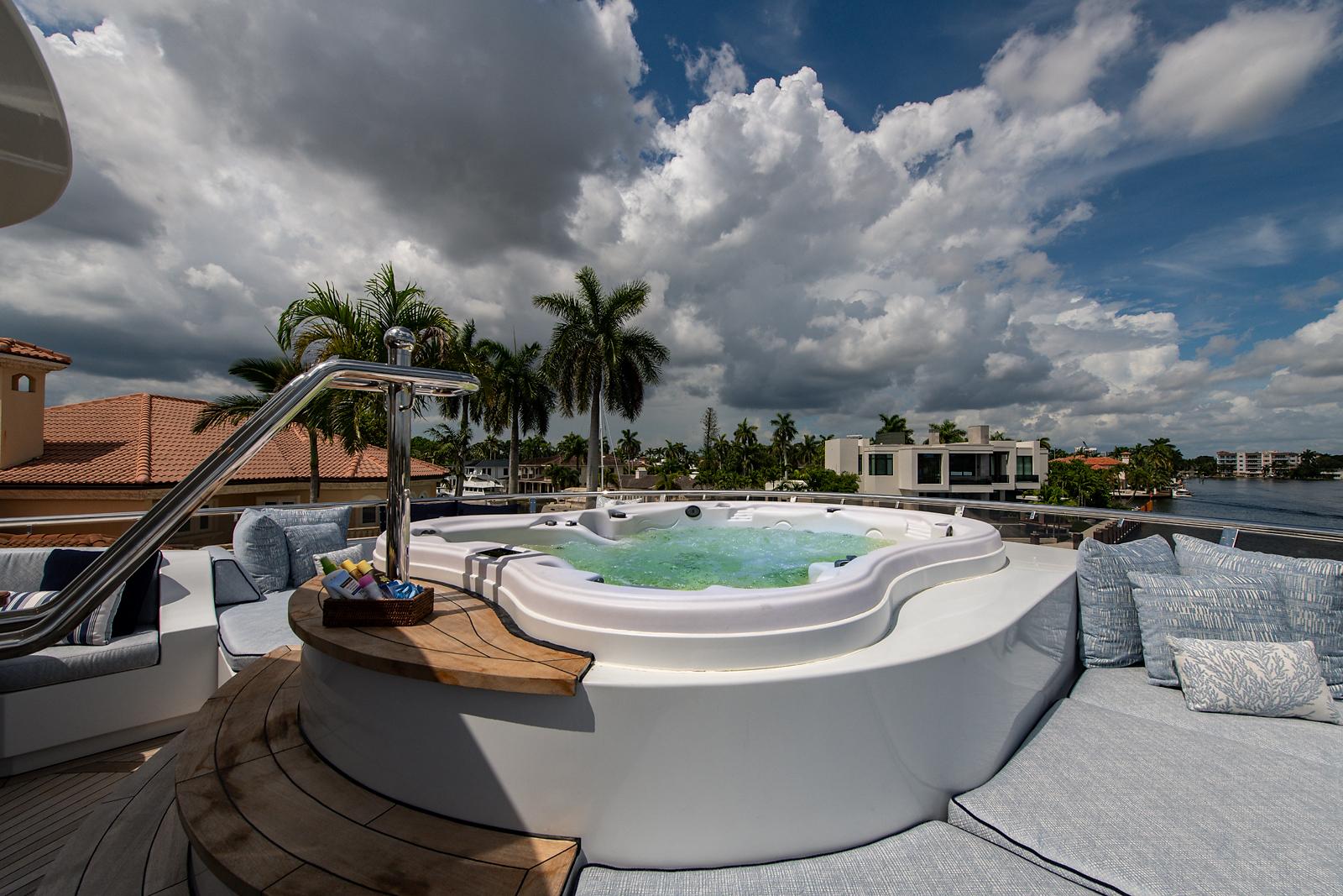 Sun Deck Hot Tub