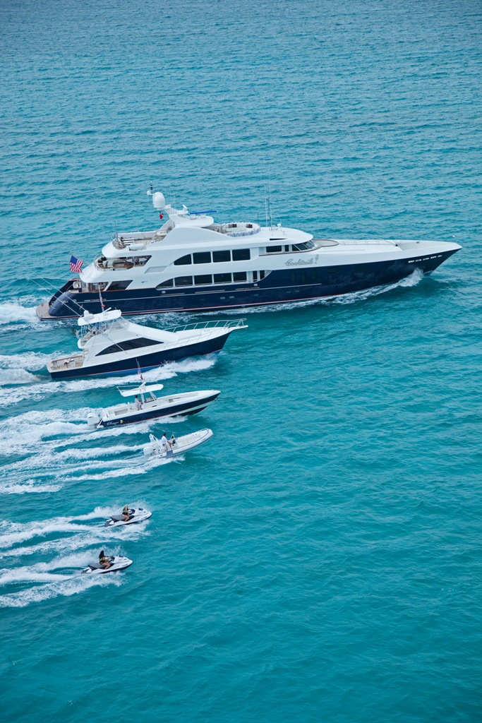 Yacht COCKTAILS - By Trinity Yachts - Profile With Watertoys
