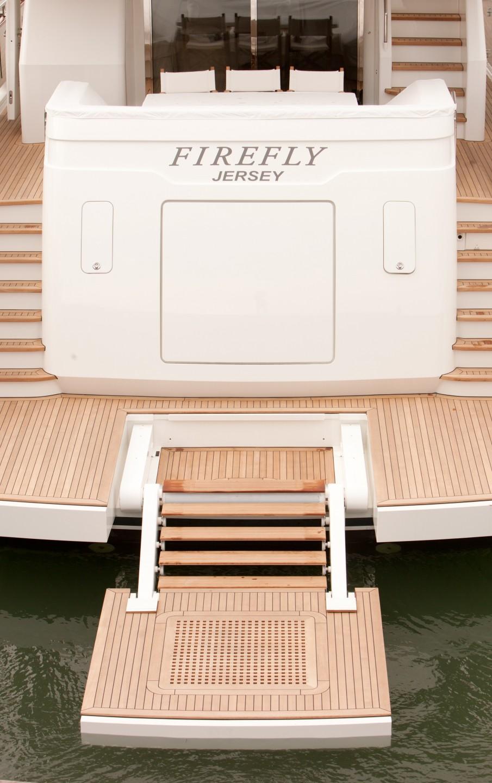 Yacht FIREFLY By Mulder - Extended Swim Platform