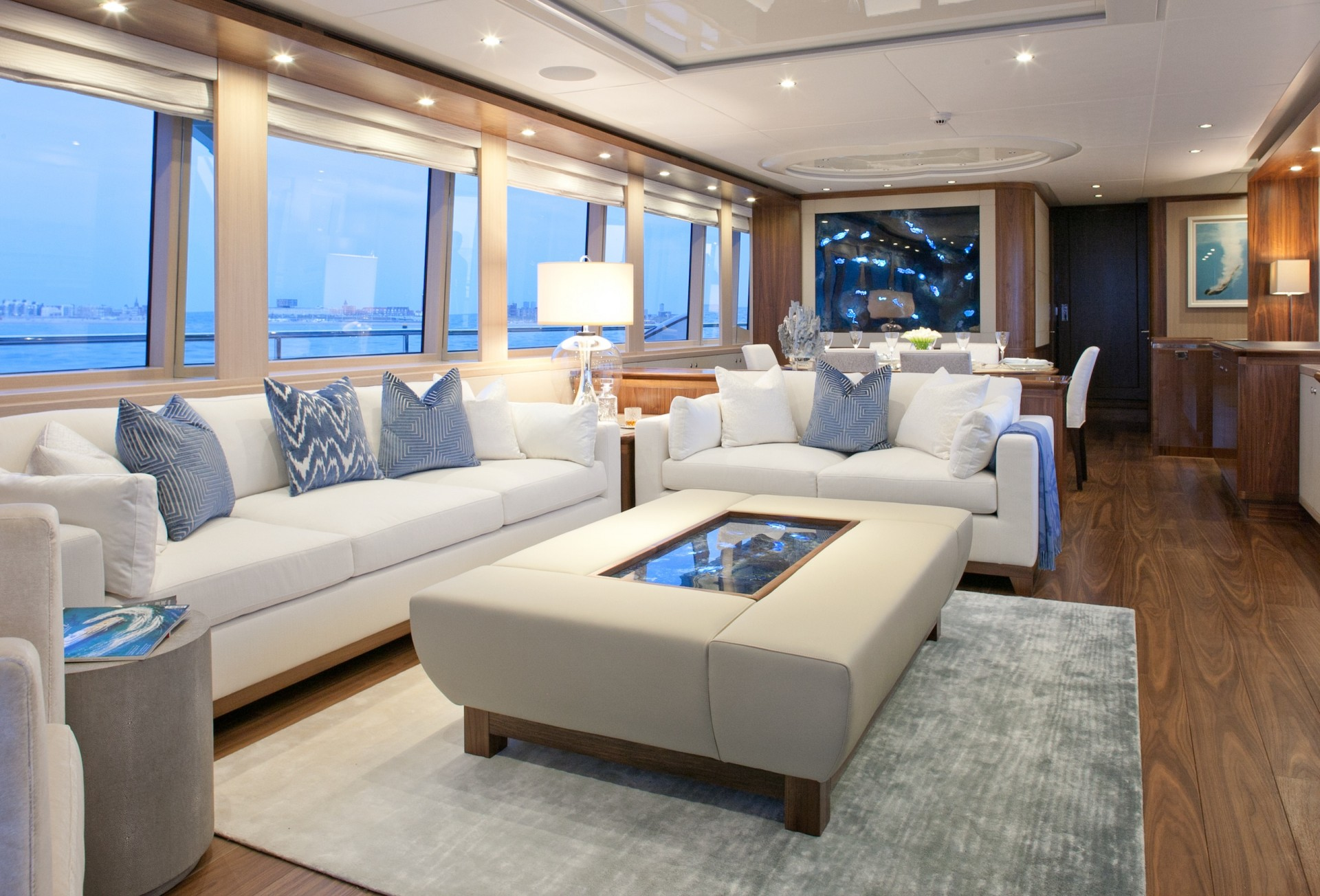 Yacht FIREFLY By Mulder - Salon Dining