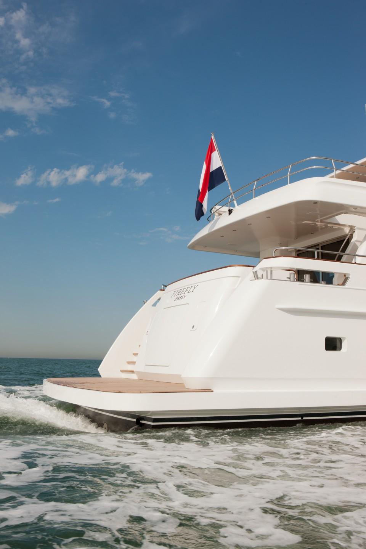 Yacht FIREFLY By Mulder - Stern Swim Platform