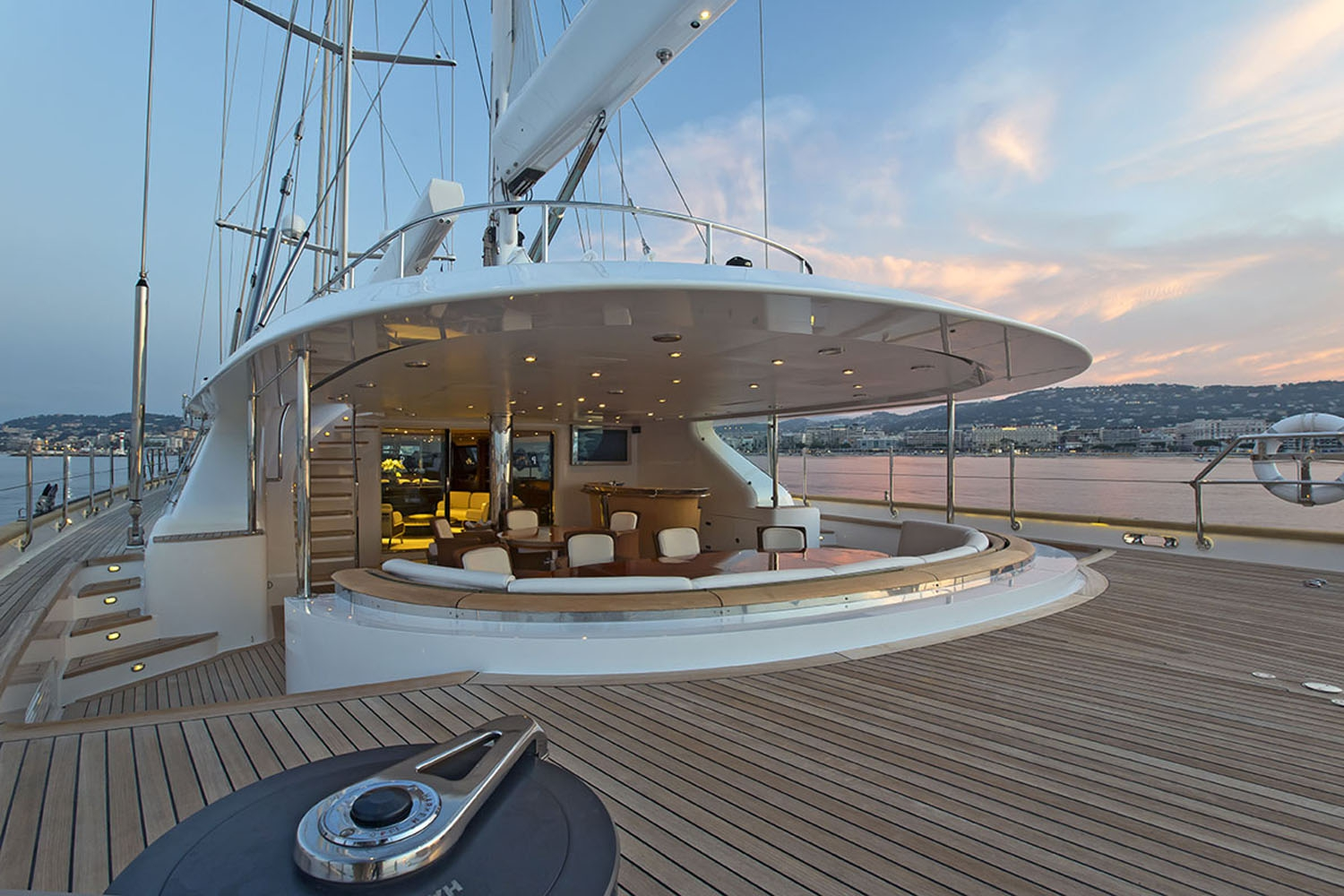 Yacht PARSIFAL III By Perini Navi - Aft Deck