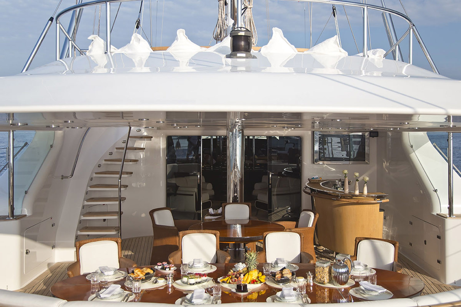 Yacht PARSIFAL III By Perini Navi - Aft
