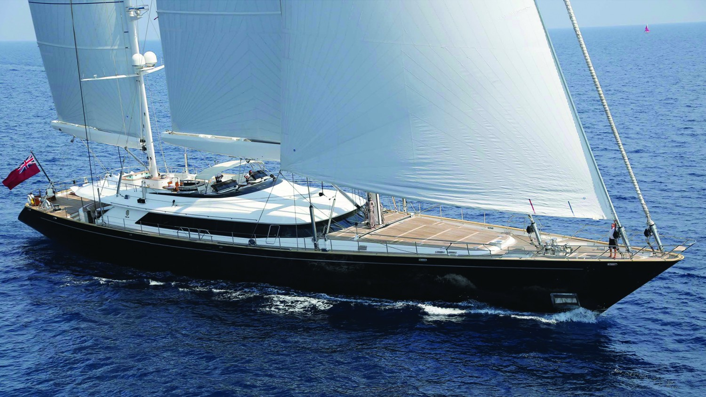 Yacht PARSIFAL III By Perini Navi - Profile Sailing