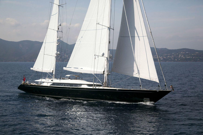 Yacht PARSIFAL III By Perini Navi - Sailing