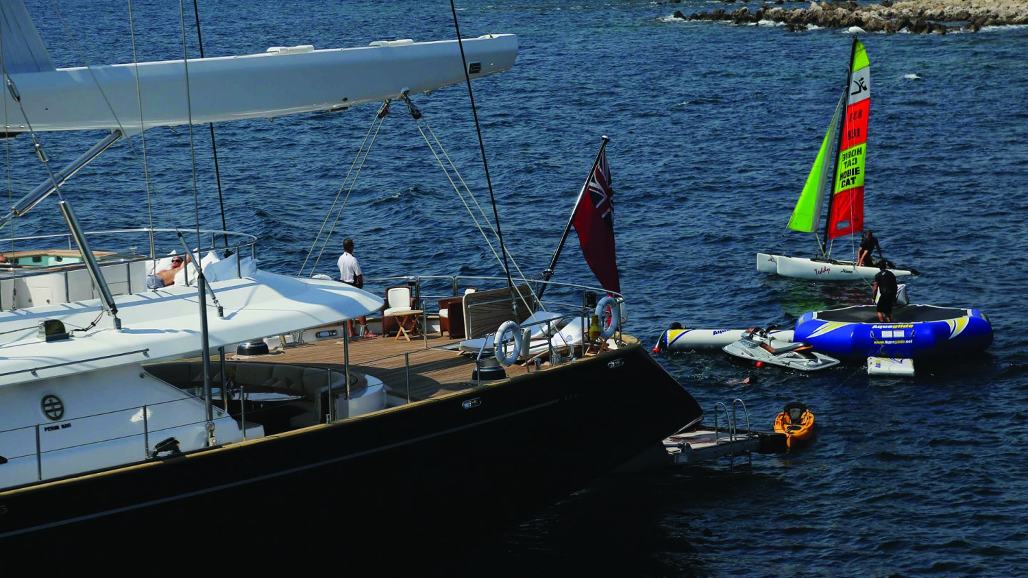 Yacht PARSIFAL III By Perini Navi - Water Toys