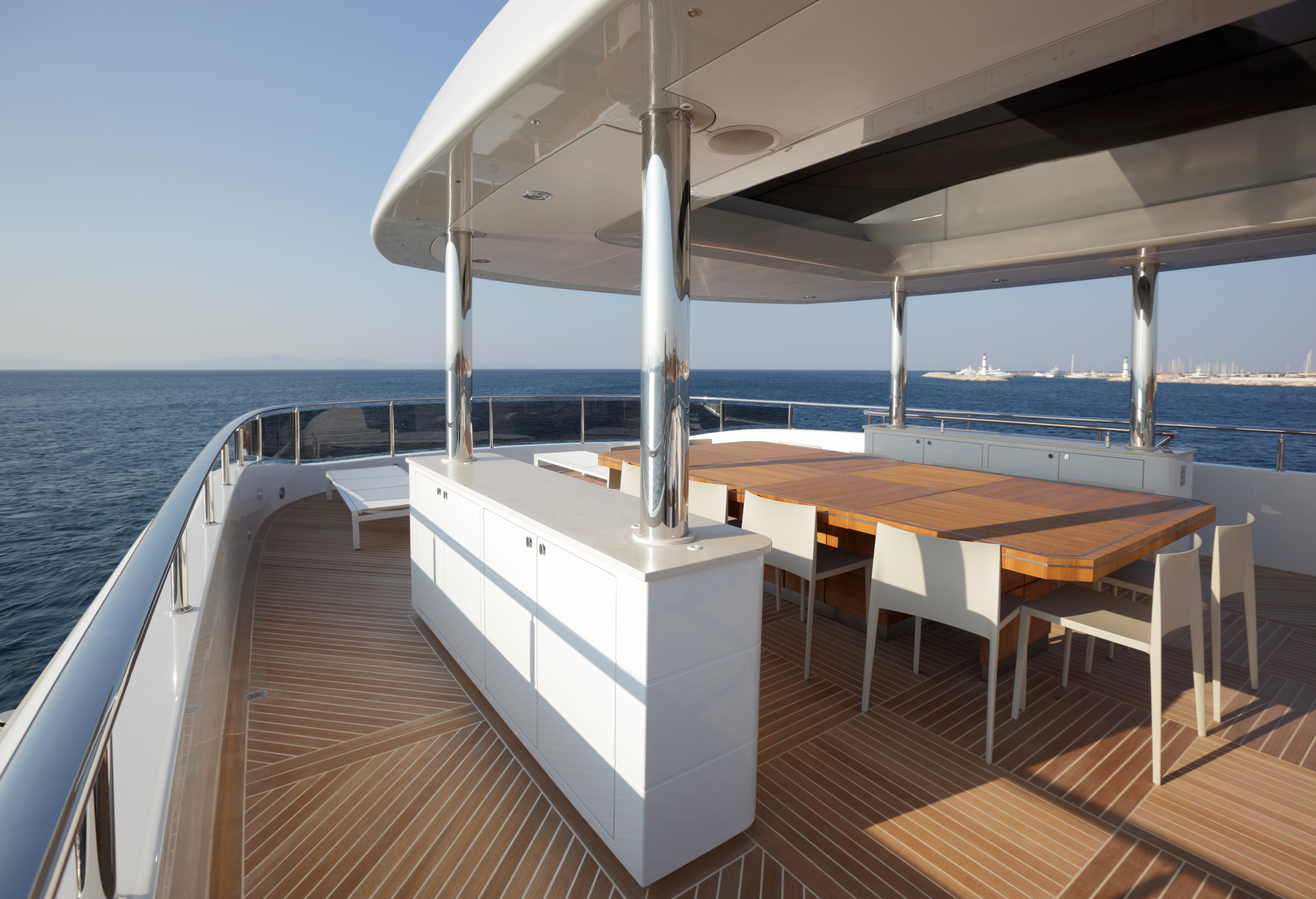 Yacht QUARANTA By Curvelle - Sundeck Al Fresco Dining