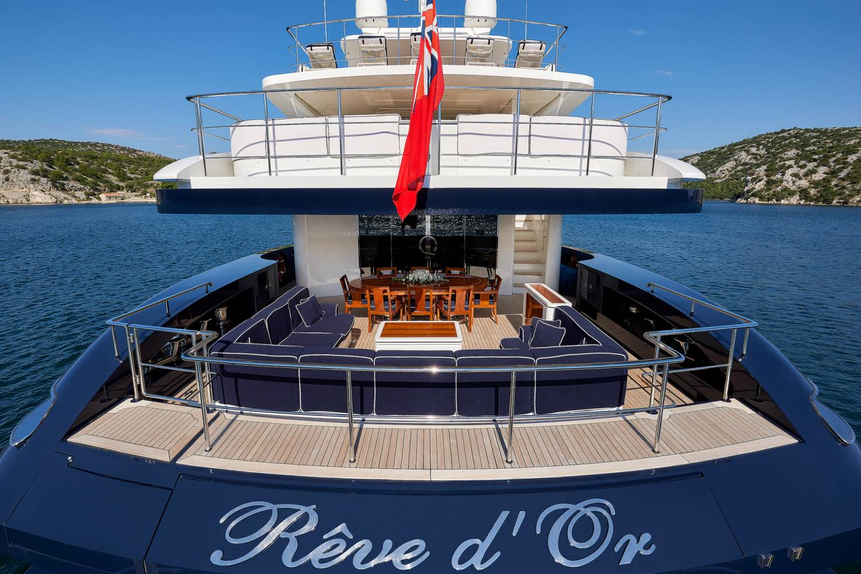 Yacht REVE D'OR By Sanlorenzo - Aft Decks