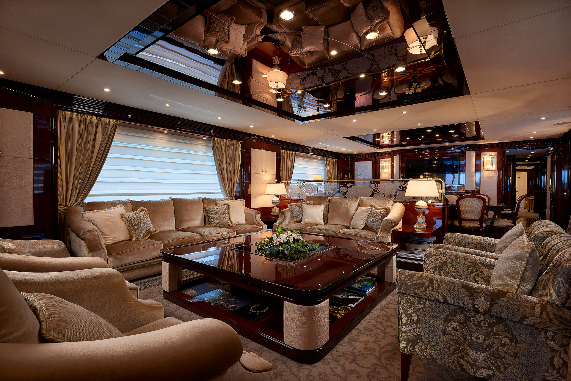 Yacht REVE D'OR By Sanlorenzo - Interior Seating
