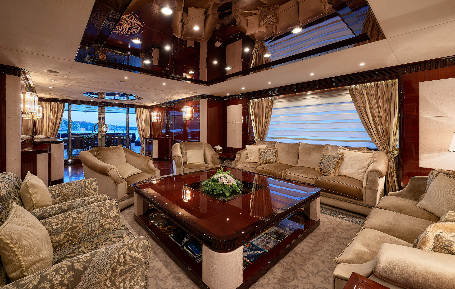 Yacht REVE D'OR By Sanlorenzo - Lounge