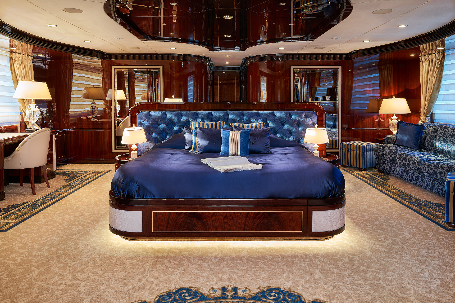 Yacht REVE D'OR By Sanlorenzo - Master
