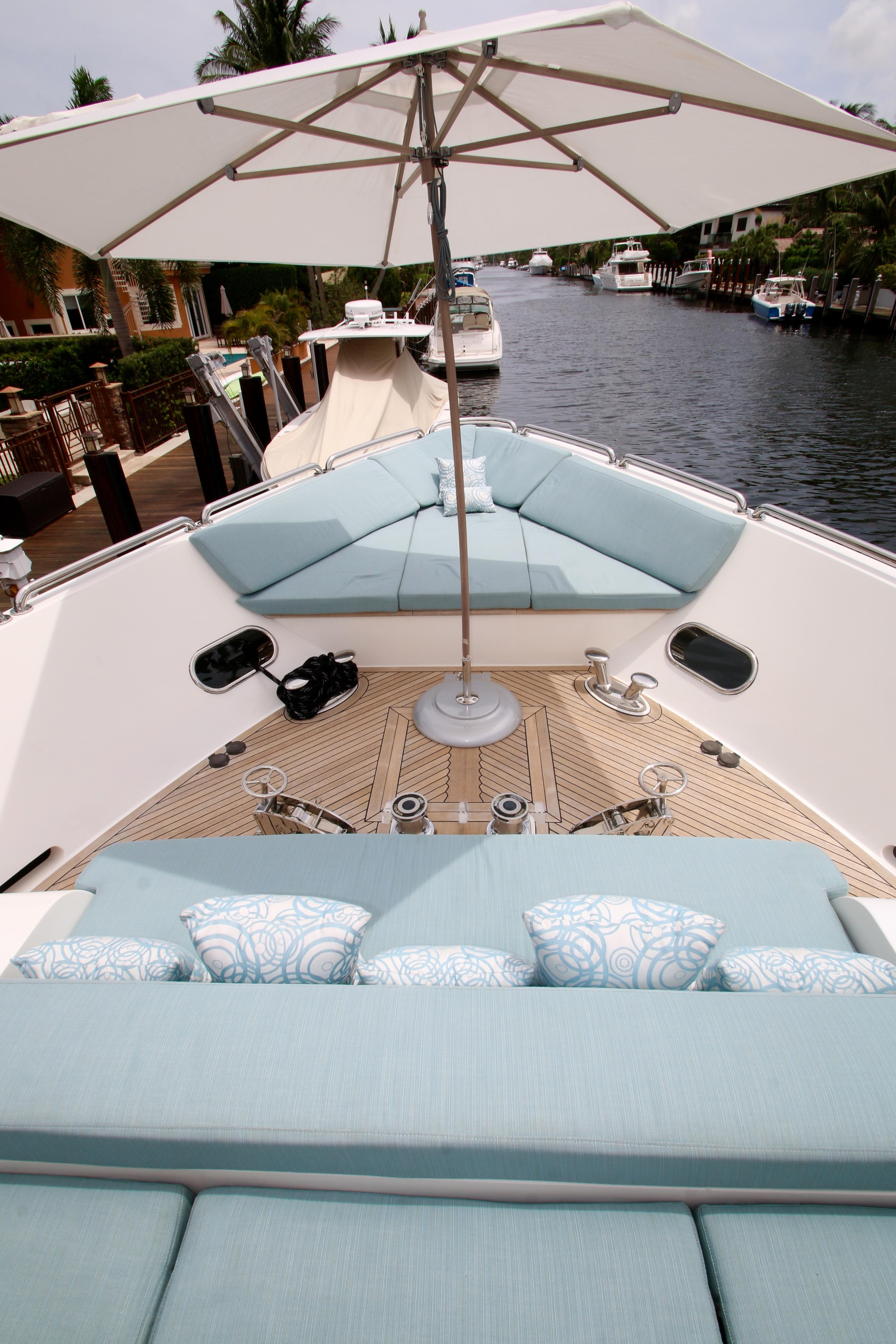 Comfortable Seating Foredeck