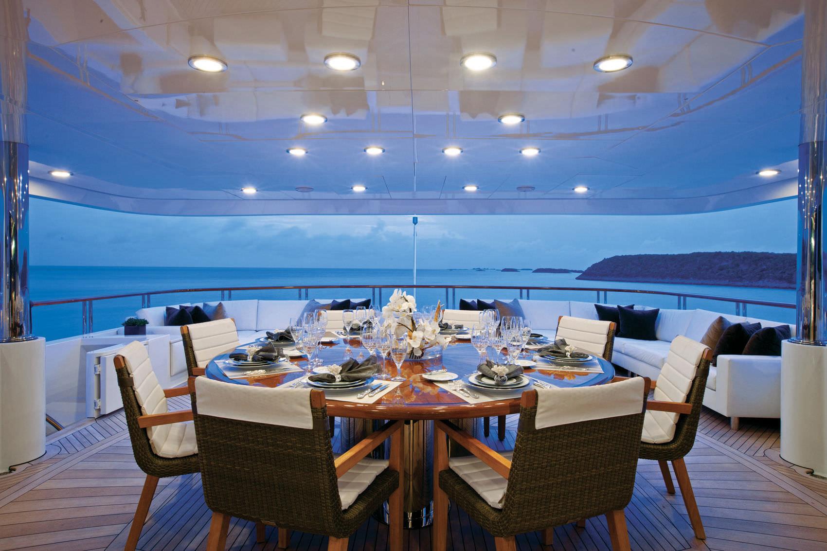 Dining Al Fresco Evening