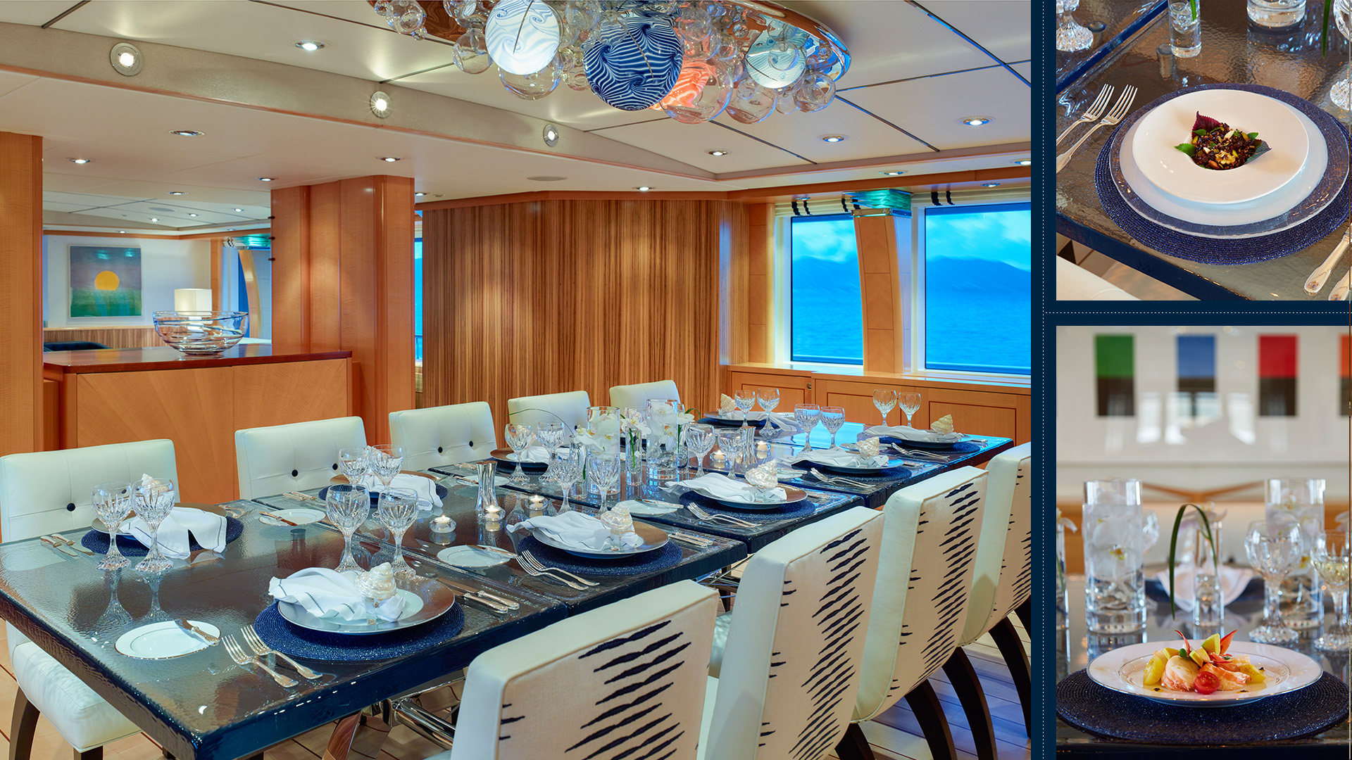 Dining Area On The Main Deck