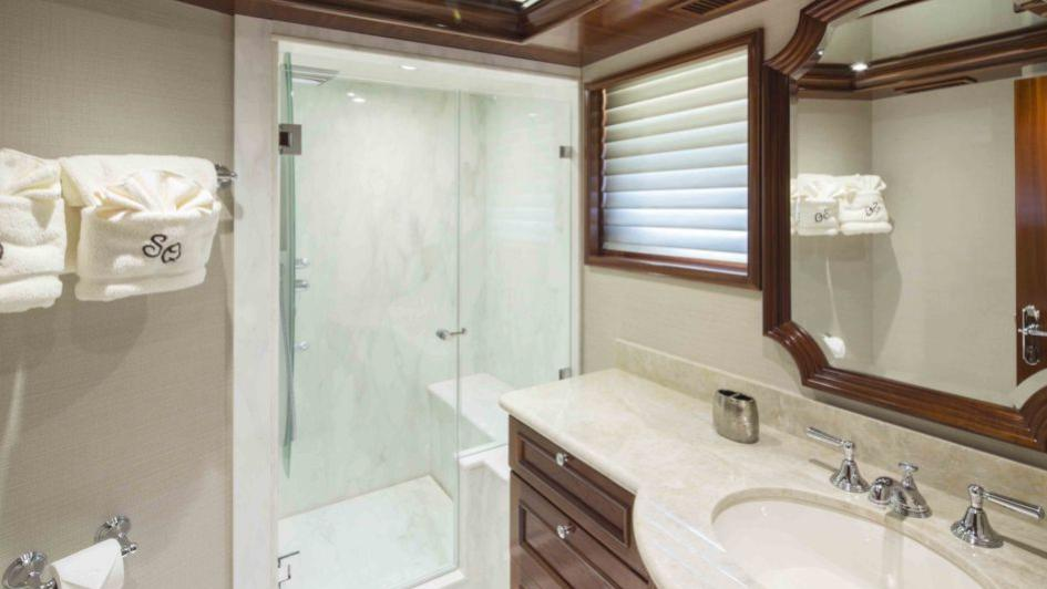 Ensuite With Shower Is Spacious