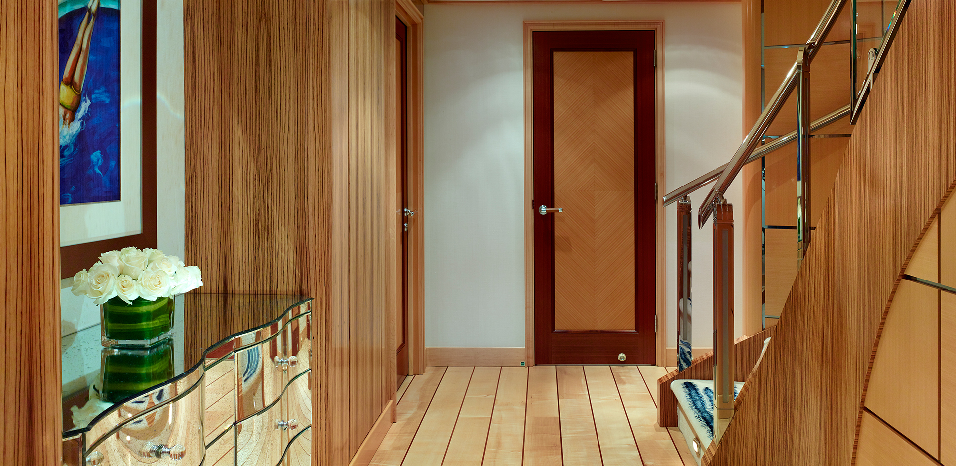Lower Deck Foyer