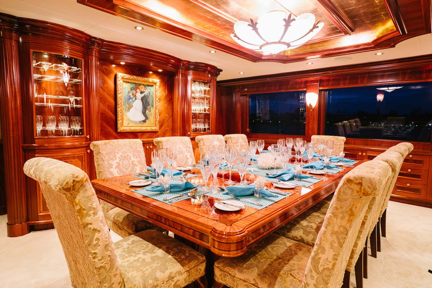 Main Deck Dining Area For Formal Meals