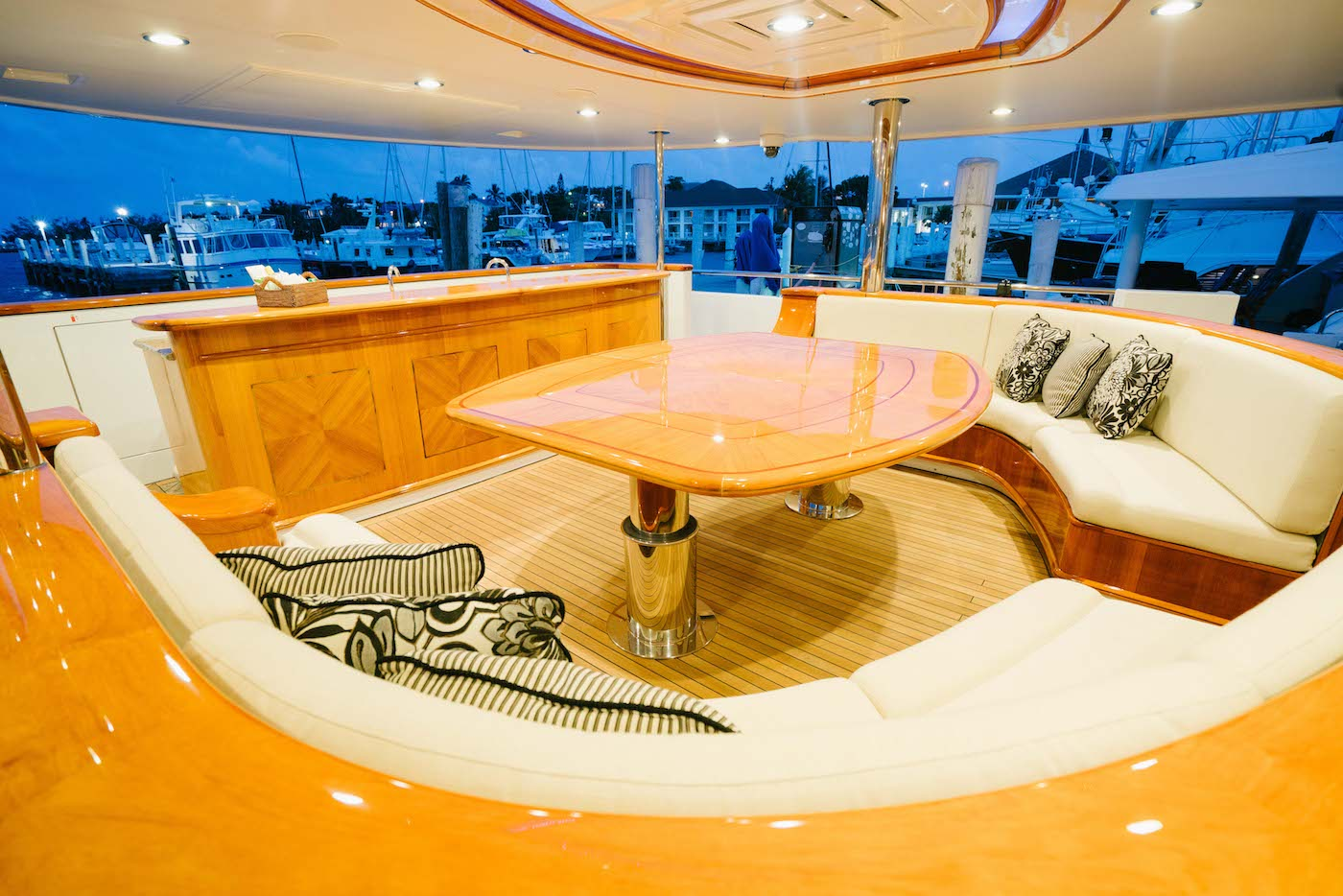 On Deck Dining Area Aft