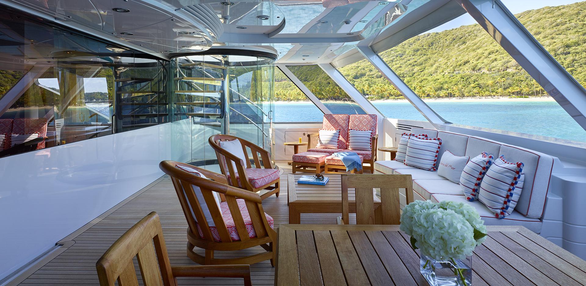 Owner Deck Exterior Area