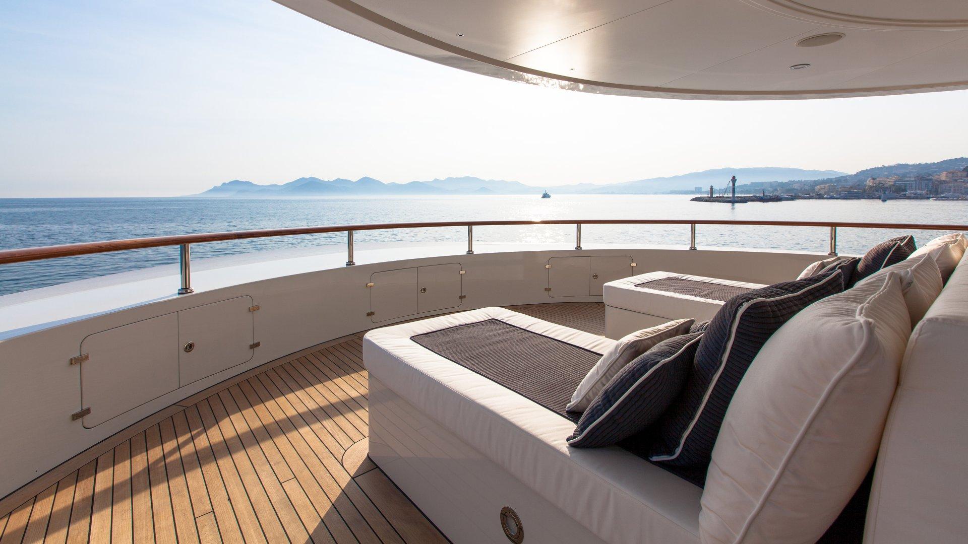 Yacht Pride Exterior under the sun