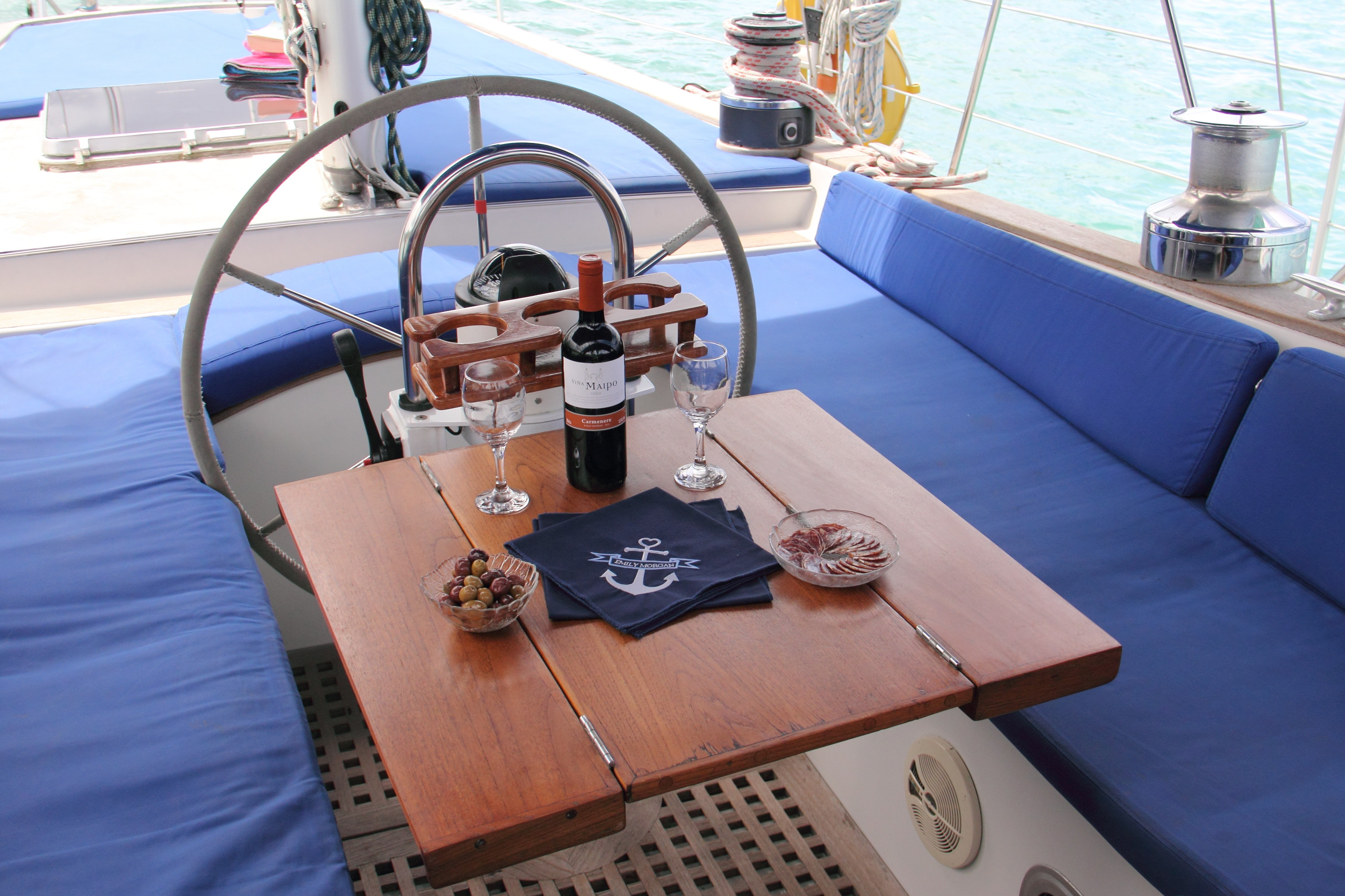 Life On Board Yacht EMILY MORGAN