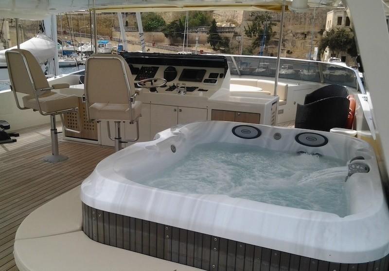 Life Aboard Yacht ARIA