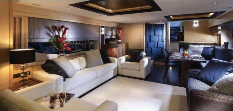 Inside On Yacht VEUVE