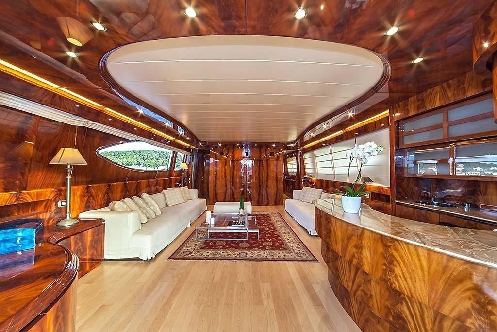 The 30m Yacht ADRIATIC BLUES