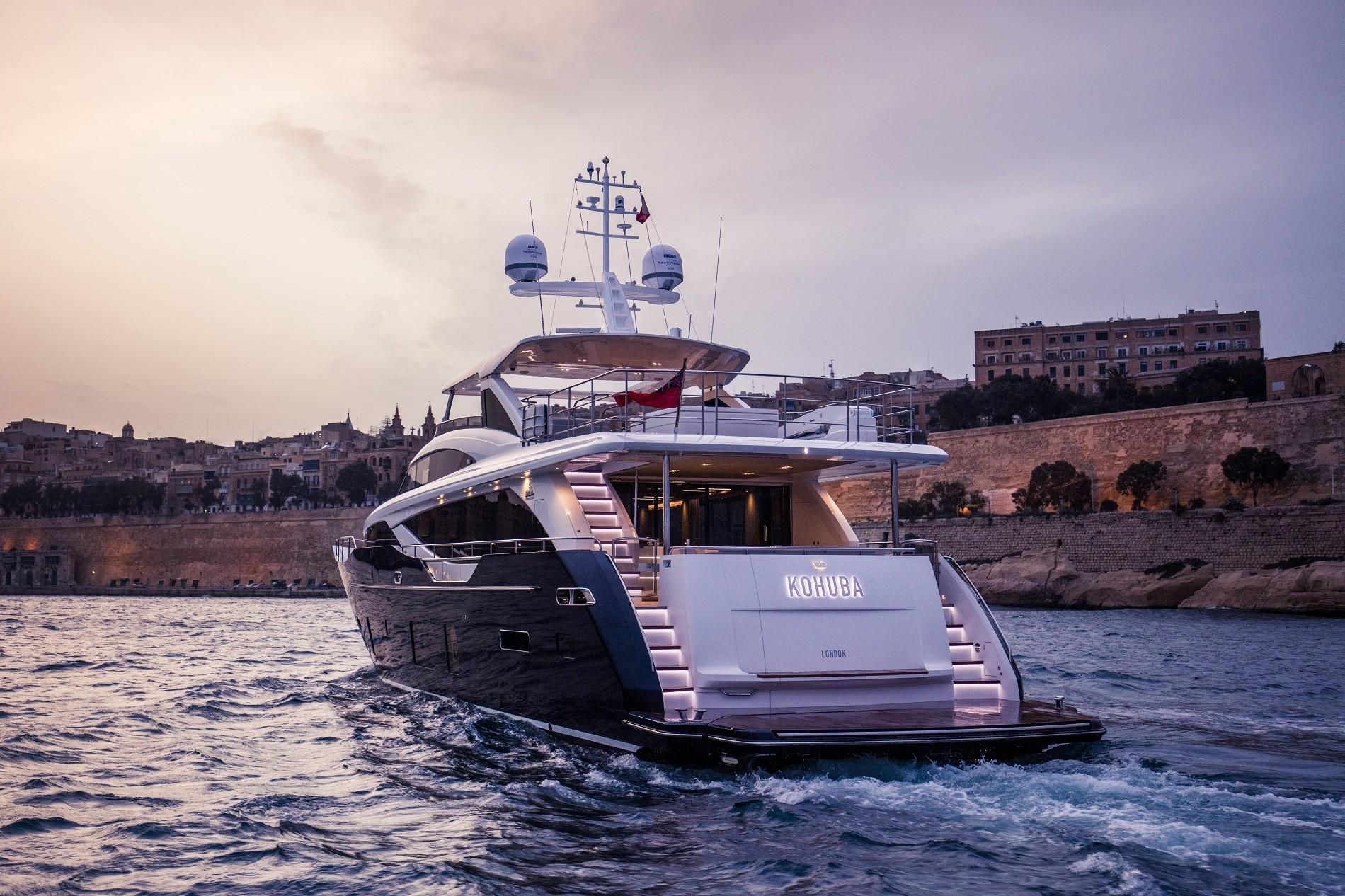 The 30m Yacht KOHUBA