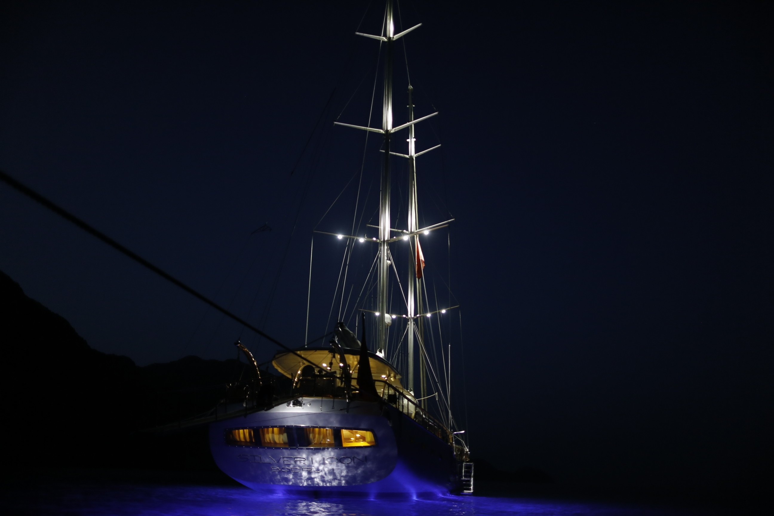 The 36m Yacht SILVER MOON
